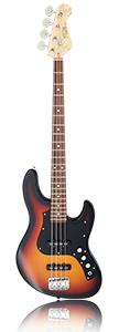Boundary Mighty Jazz 3-Tone Sunburst