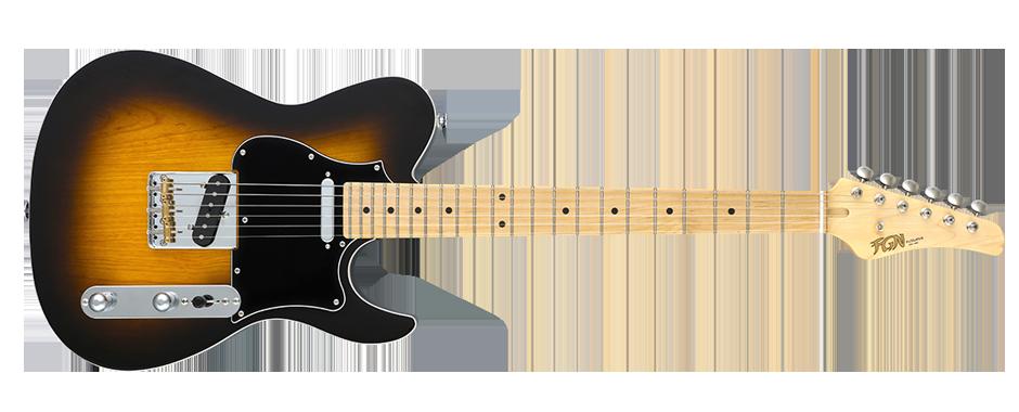 J-Standard iliad SS Ash 3-Tone Sunburst