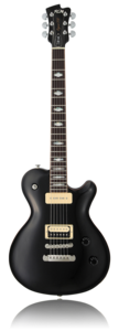 Epxert Flame P-90 Black Gloss