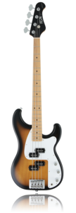 J-Standard Mighty Power Bass 2-Tone Sunburst